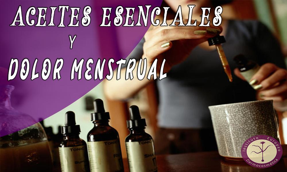 Aceites esenciales y dolor menstrual
