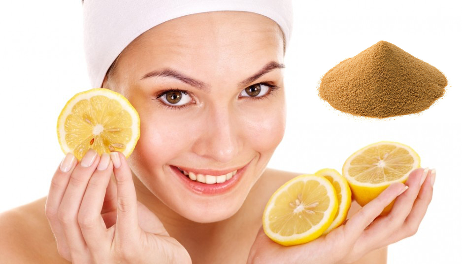 Mascarilla para piel grasa de levadura y limón