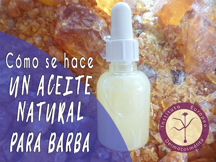 receta cosmetica natural